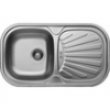 LIVINOX EC153DK karcálló,szövetmintás egymedence csepptálcás mosogató