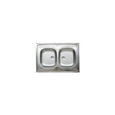 LIVINOX N114K kétmedencés teletetős mosogató konyhai eszköz