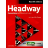 Liz Soars, John Soars NEW HEADWAY ELEMENTARY 4TH ED. WORKBOOK W/KEY & ICHECKER