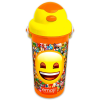 Lizzy Card Emoji: Smile műanyag kulacs - 500 ml
