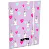 Lizzy Card Lollipop: unikornisos gumis mappa - A5, lila