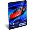 LizzyCard Füzet tűzött A/5 szótár Super Racecar Red Lightning 17512602