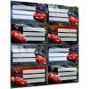 LizzyCard Füzetcímke íves Cars Mix 17377505