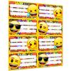 LizzyCard Füzetcímke íves Emoji Mix 18514309