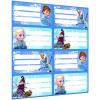 LizzyCard Füzetcímke íves Frozen Mix 18377715