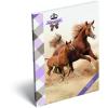 LizzyCard Notesz papírfedeles A/6 GEO Horse Two 17457207