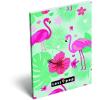LizzyCard Notesz papírfedeles A/6 Lollipop Flamingo 17405527