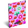 LizzyCard Notesz papírfedeles A/6 Lollipop Red Fox 17405524