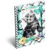 LizzyCard Notesz papírfedeles A/6 Pet Meow 17252807