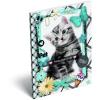 LizzyCard Notesz papírfedeles A/7 Pet Meow 17265207
