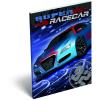 LizzyCard Notesz papírfedeles A/7 Super Racecar Blue Thunder 17519501