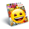 LizzyCard Notesz spirál kicsi A/7 Emoji Smile 17519702