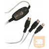 LogiLink - Adapter USB to Midi In-Out