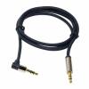 LogiLink audió kábel 3.5 sztereó, apa/apa, 90° hajlított, 3.00 m, kék