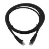 LogiLink CAT6 U/UTP Flat Patch Cable SlimLine AWG32 black 1,00m