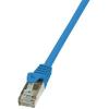 LogiLink patch kábel, Cat.6 F/UTP EconLine 2m kék