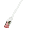 LogiLink patch kábel, Cat.6 S/FTP PIMF PrimeLine 3,00m fehér