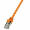 LogiLink patch kábel, Cat.6 S/FTP PIMF PrimeLine narancssárga 1m