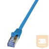 LogiLink patch kábel, Cat.6A 10G S/FTP PIMF PrimeLine kék 7,5m