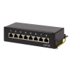 LogiLink - Patch Panel Desktop Cat.6A STP 8 ports; Black