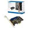 LogiLink SATA 6Gbps H/W RAID PCI Express kártya