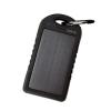 LogiLink Universal Solar Charger, 5000 mAh, Black
