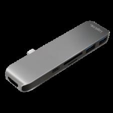 LogiLink - USB-C 6-in-1 multifunctional hub, aluminum alloy laptop kellék