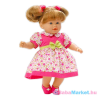 Loko : hajas baba nyári ruhában - 39 cm