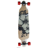 Longboard gördeszka SURF BLACK 2332-3