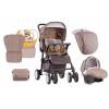 Lorelli Aero SET babakocsi - Beige&Yellow Happy Family 2018