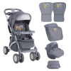 Lorelli Apollo travel system babakocsi - 2017 Gray baby owls