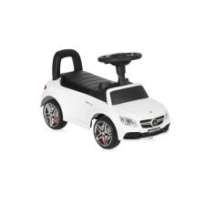 Lorelli Mercedes AMG C63 Coupe bébitaxi - fehér autópálya és játékautó