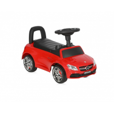 Lorelli Mercedes AMG C63 Coupe bébitaxi - piros autópálya és játékautó