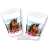 Lovas, The Horses Műanyag pohár 8 db-os 200 ml