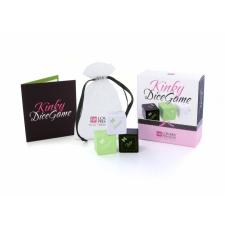 LOVERSPREMIUM Kinky - szex dobókocka szett (3 részes) erotikus ajándék