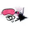 Loverspremium LoversPremium Tickle Me - bilincses szett (pink-fekete) - 3 részes