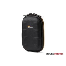 Lowepro SANTIAGO 20 II fekete-narancs, kompakt fényképezőgép táska