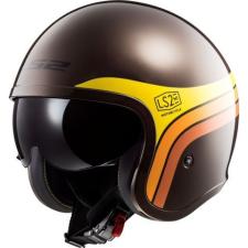 LS2 Helmets LS2 OF599 SPITFIRE SUNRISE BROWN bukósisak