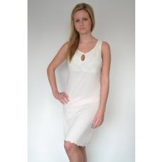 Luisa Moretti LAURA női hálóing bambuszból XL Krém szín / Cream