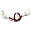 Lumen 2 darab csatlakozóelem kábellel 8mm 2 eres 4.8W & 7.2W (5050) LED szalaghoz , LUM30-37 Lumen