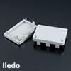 Lumines Alu profil eloxált (Iledo) végzáró
