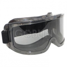 Lux Optical® Hublux védõszemüveg, gumipántos, szivacsos, sötét lencsével