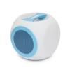 M.N.C Hordozható, vezeték nélküli, színváltós BLUETOOTH hangszóró CHILL CUBE kék