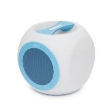 M.N.C Hordozható, vezeték nélküli, színváltós BLUETOOTH hangszóró CHILL CUBE kék hangszóró