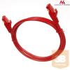 MACLEAN Maclean MCTV-300R Patchcord UTP cat6 Cable plug-plug 0;5m red