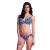 Madame BUTTERFLY merevítős mélykivágású bikini felső - 75D