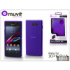 Made for Xperia MUVIT Sony Xperia M2 (D2305) hátlap - Made for Xperia Muvit miniGel - lila