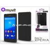 Made for Xperia MUVIT Sony Xperia M5 (E5603/E5606/E5653) hátlap - Made for Xperia Muvit miniGel - black