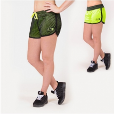 MADISON REVERSIBLE SHORT - BLACK/NEON LIME (BLACK/NEON LIME) [L]