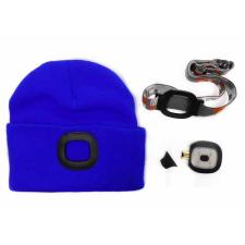 Magg Sapka LED-es lámpával - kék barkácsolás, csiszolás, rögzítés